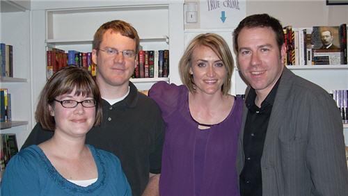 Heather & Jon Armstrong w/ Dick & Jane