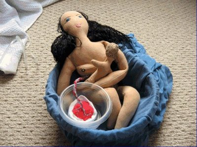 CMD holding baby